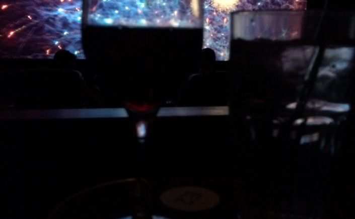 Wine in movie theater