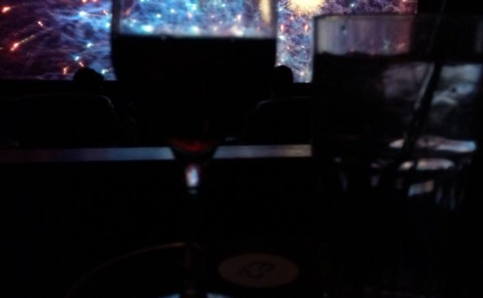 Wine in movie theater