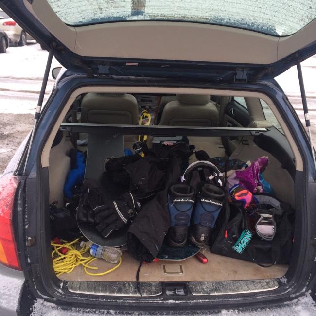 Subaru Outback cargo