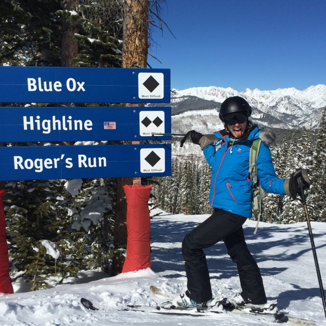 Chair 10 Trail sign Vail