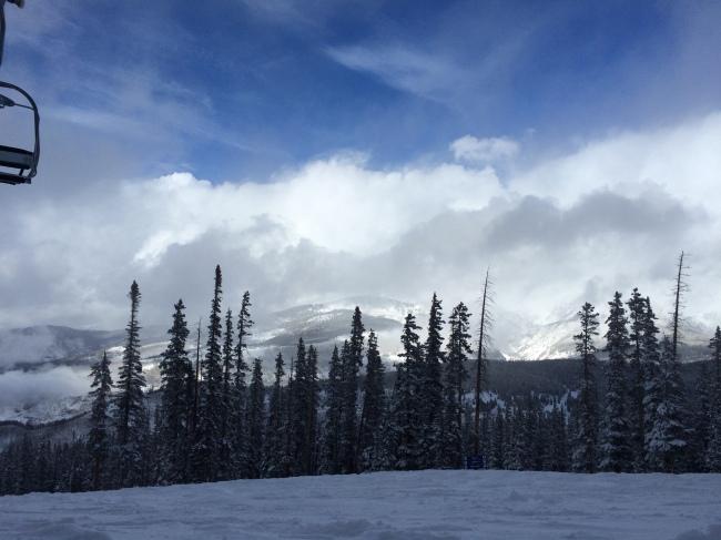 Gore Mountains in Vail, Colorado