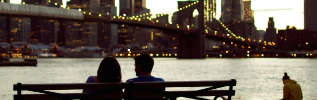 Brooklyn Bridge Bench