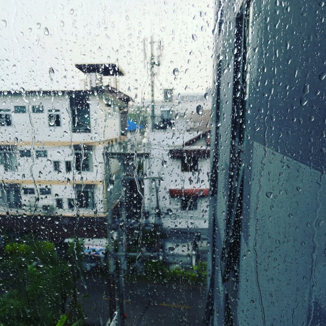 Rainy Season in Chiang Mai, Thailand