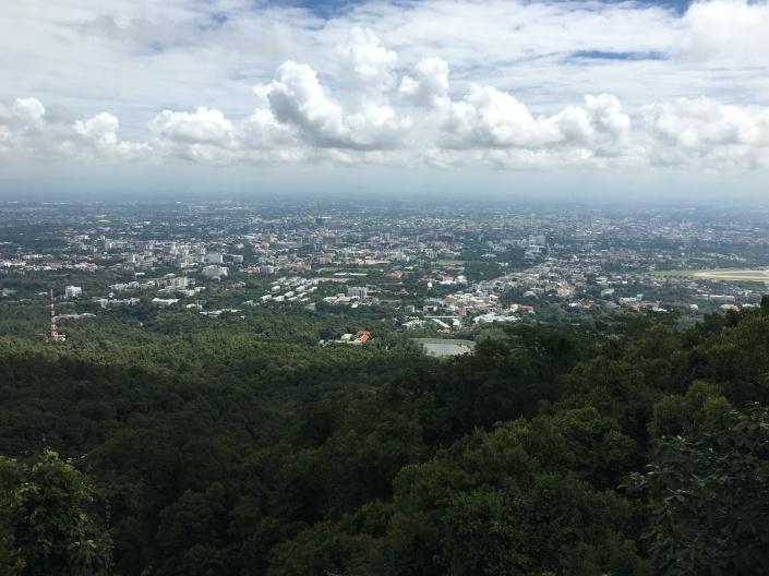 Chiang Mai from Doi Suthep