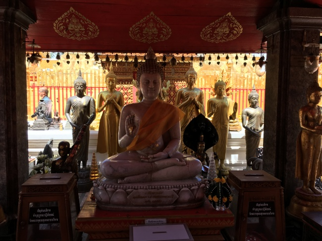 Gold Buddha Images in Thailand