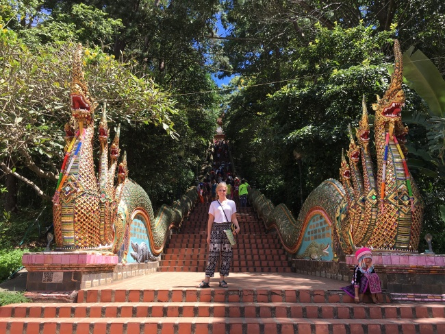 Naga Stair Doi Suthep