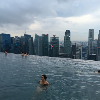 World's highest rooftop infinity pool