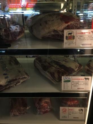 Beef display