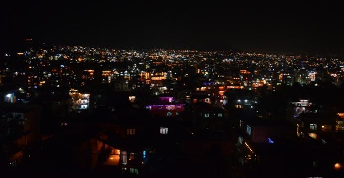 Kathmandu Nepal picture at night