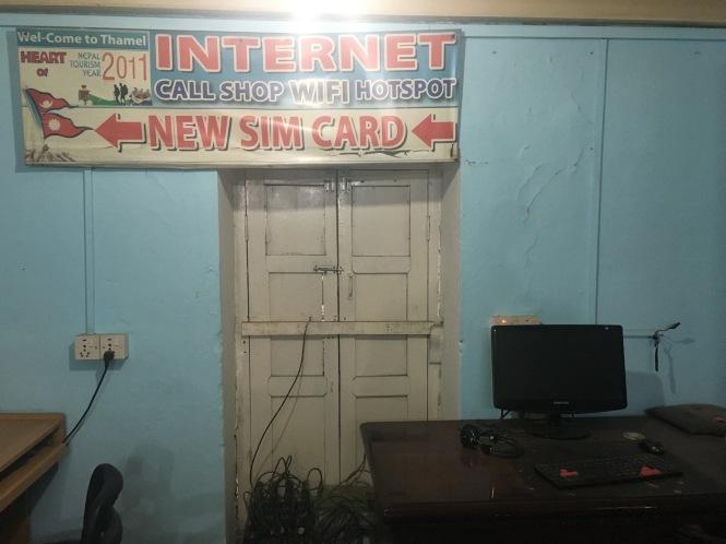 Thamel Internet Cafe