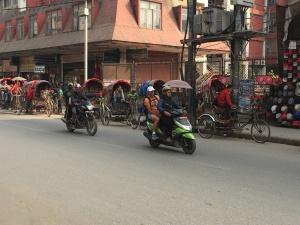 Nepal Rickshaw Taxis