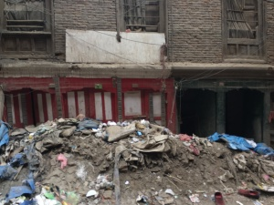 Earthquake damage Kathmandu