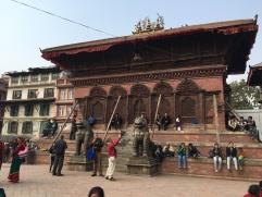 People in Kathmandu Durbar Square