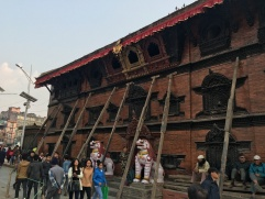 Earthquake damage Kathmandu Durbar Square 2016
