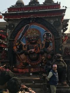 Hindu Carving in Kathmandu Durbar Square