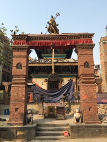 Kathmandu Durbar Square After Earthquake