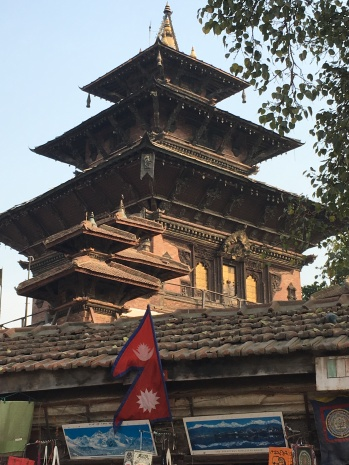 Biggest building Kathmandu Durbar Square