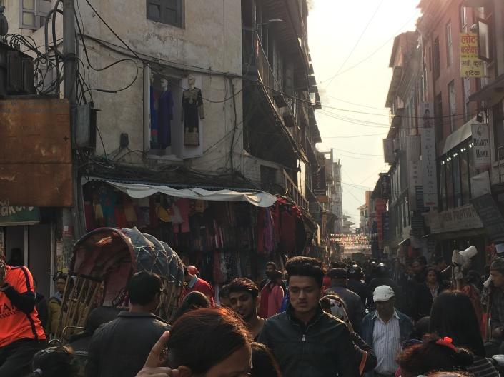 kathmandu alleys