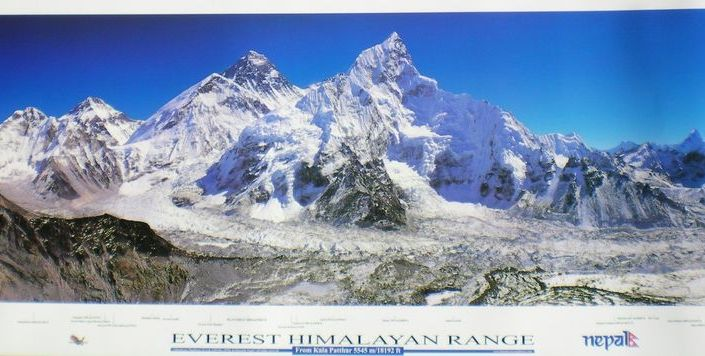 Everest Posters Sold in Nepal