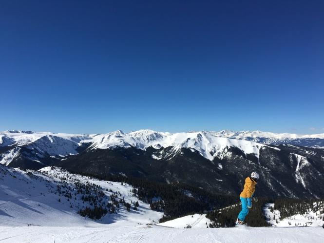 Snowboarding Arapahoe Basin Colorado