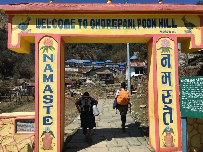 Ghorepani Entrance Trekking Gate