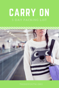 5-day-carry-on-packing-list