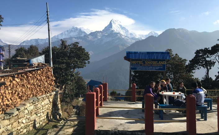 Teahouse trekking Nepal Photos