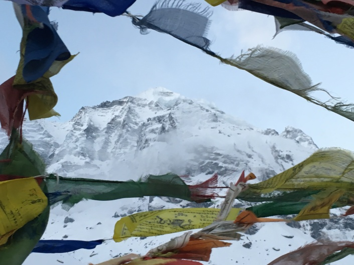 Nepal Prayer Flags at Annapurna Base Camp