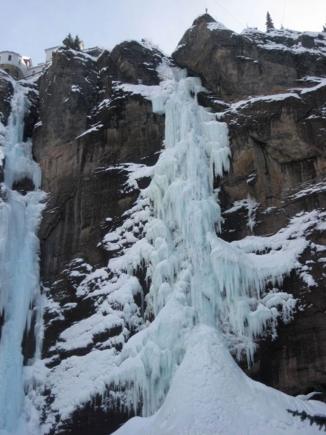 Bridal Veil Falls Ice Climb