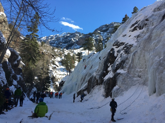 Ouray Ice Park New Funtier