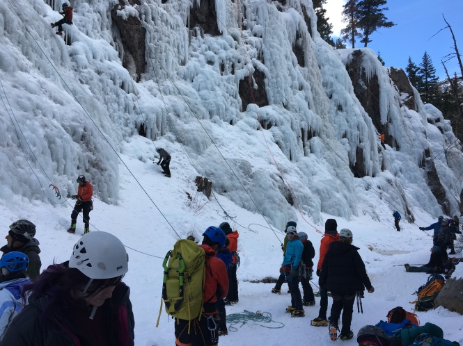 Ouray Ice Park South Park Sector