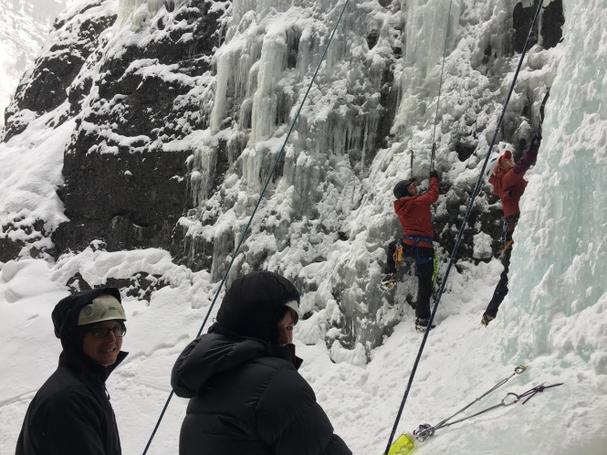 Camp Bird Ice Climbing