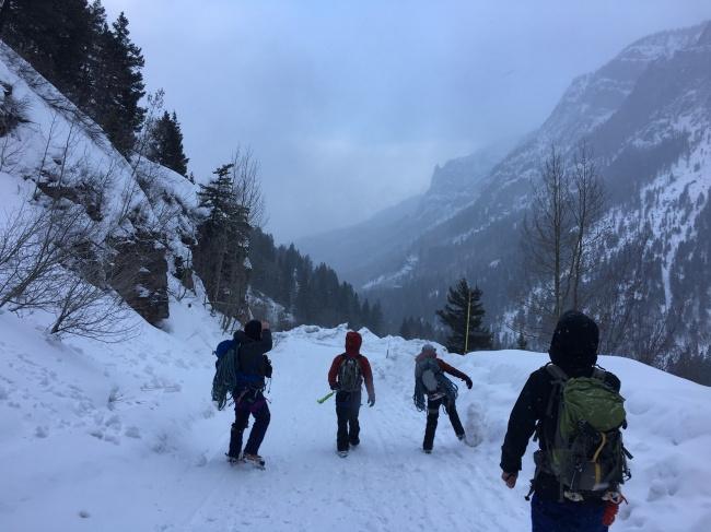 Colorado invierno montanas