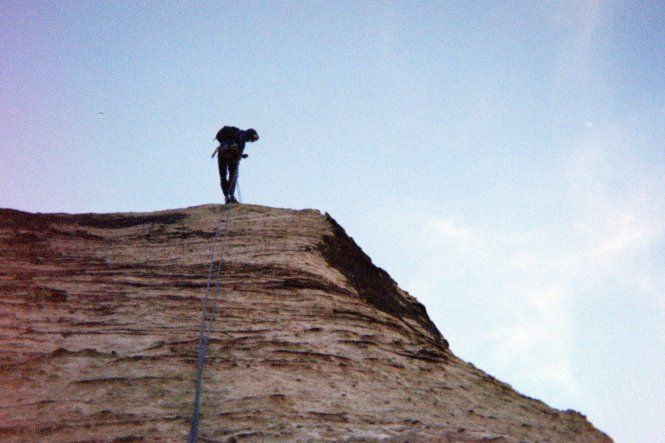 Rappelling Red Rock Canyon Las Vegas, Birdland Route
