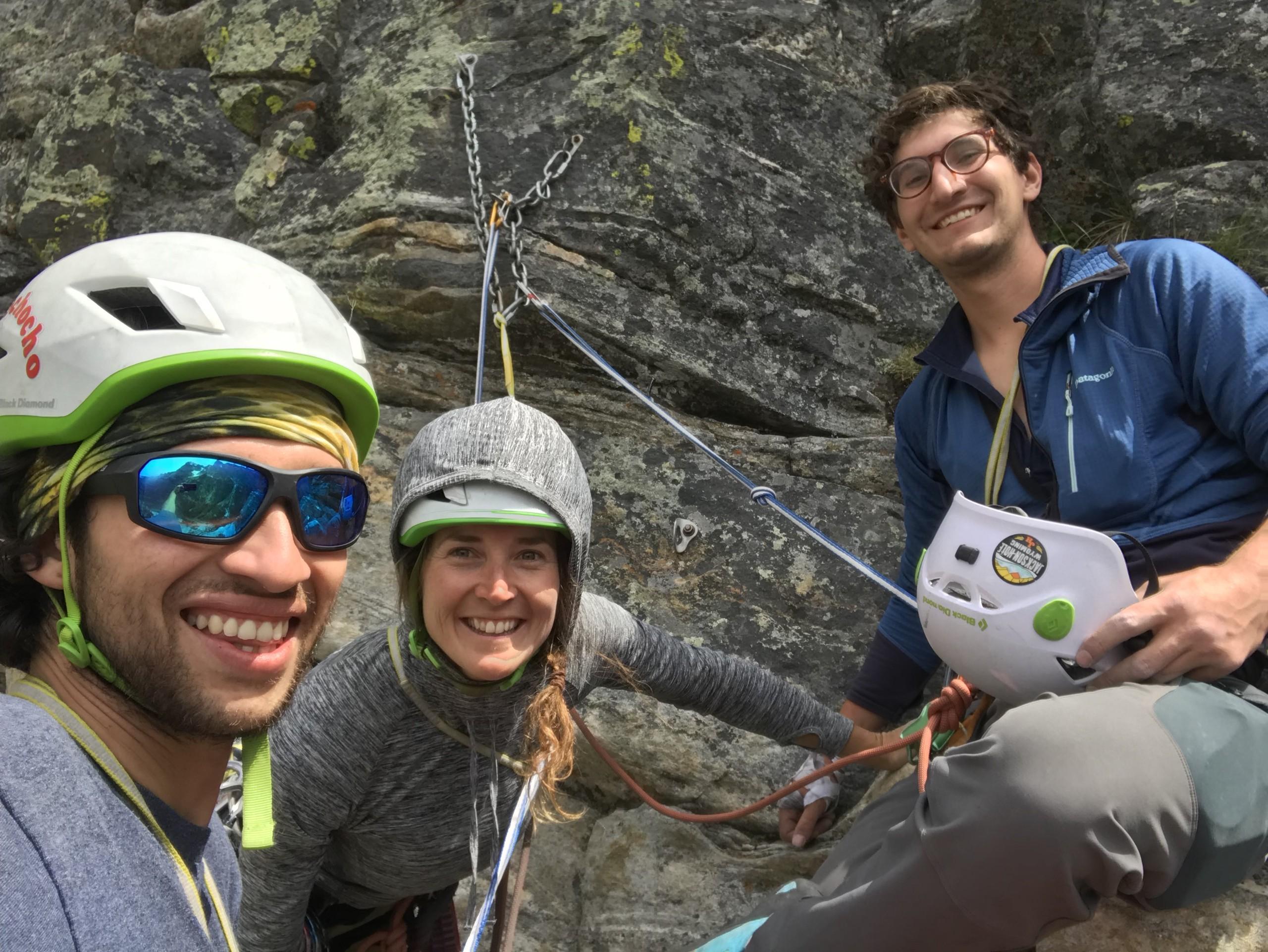 Guide's Wall GTNP Climbs Aaron Gams