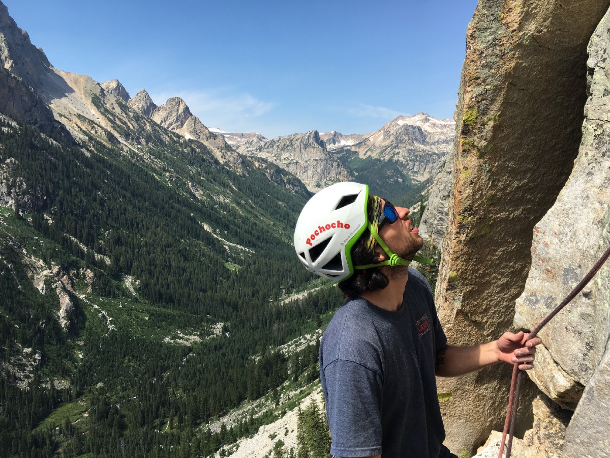 Guide's Wall Climb Grand Teton National Park