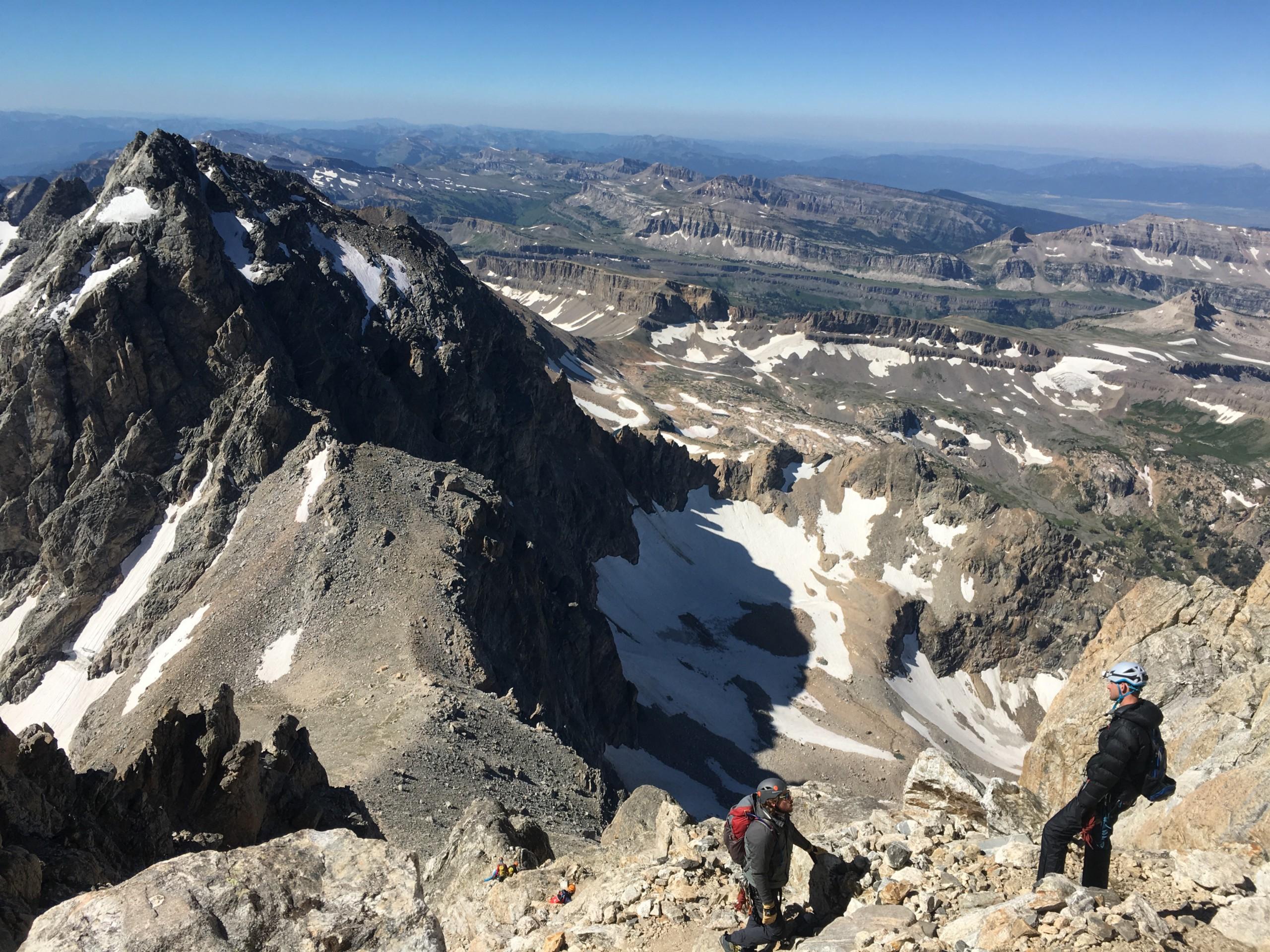 Owen-Spalding Climbing Route Grand Teton